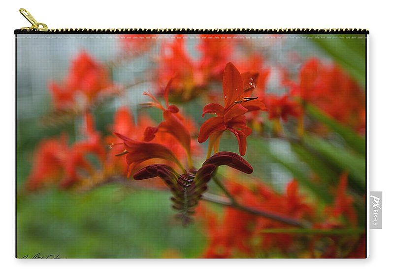 Vibrant Carry-all Pouch featuring the photograph Vibrant Abstract by Beverly Cash