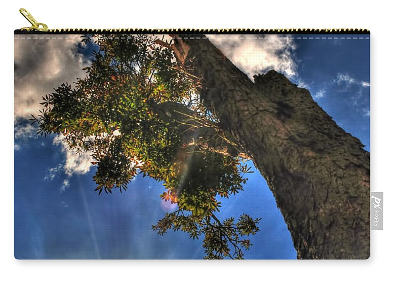 Carry-all Pouch featuring the photograph 001 Reaching For The Sky by Michael Frank Jr