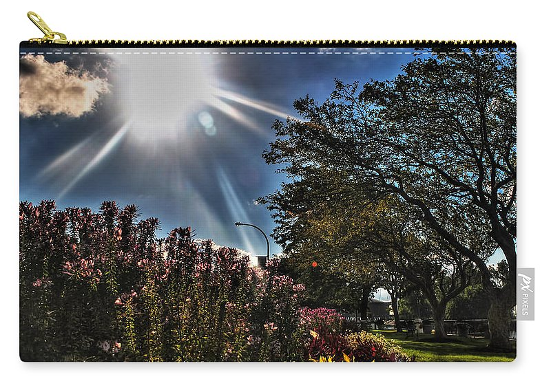 Carry-all Pouch featuring the photograph 003 Summer Sunrise Series by Michael Frank Jr