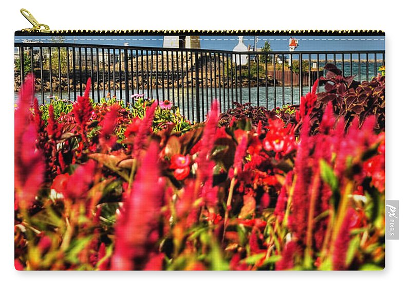 Carry-all Pouch featuring the photograph 004 Summer Sunrise Series by Michael Frank Jr