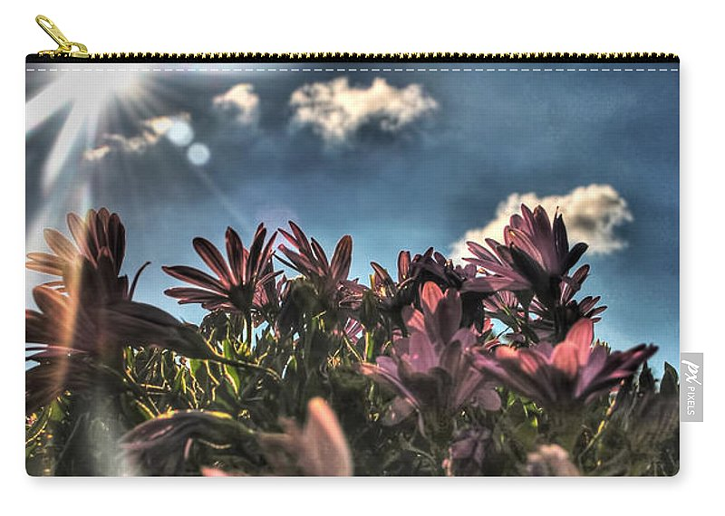 Carry-all Pouch featuring the photograph 008 Summer Sunrise Series by Michael Frank Jr