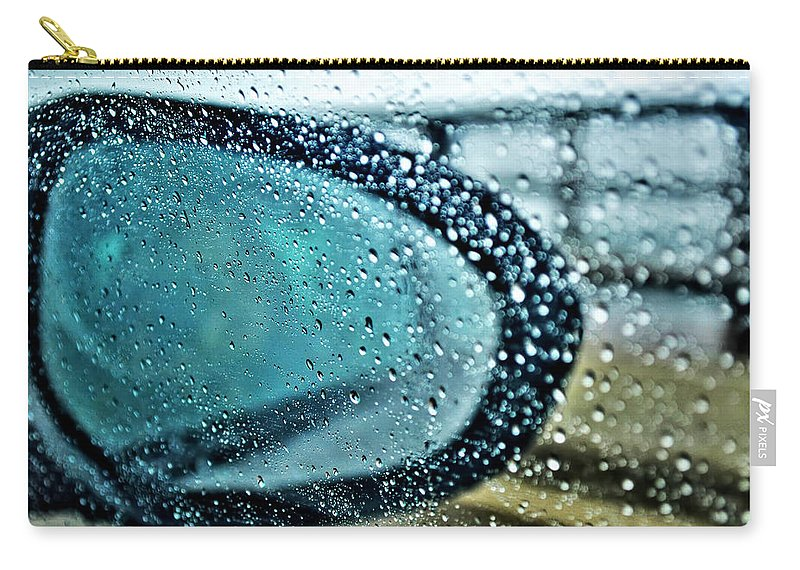 Carry-all Pouch featuring the photograph 03 Crying Skies by Michael Frank Jr