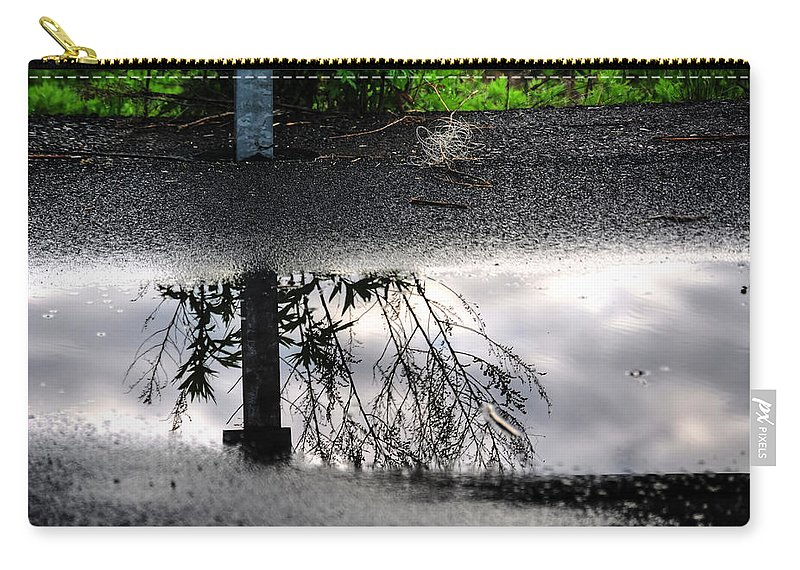 Carry-all Pouch featuring the photograph 05 Reflecting by Michael Frank Jr