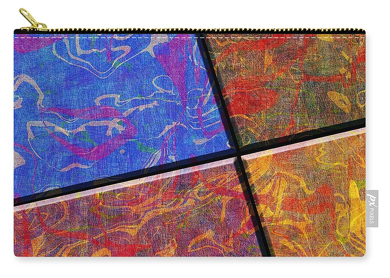 Abstract Carry-all Pouch featuring the digital art 0580 Abstract Thought by Chowdary V Arikatla