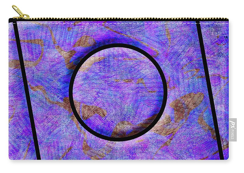 Abstract Carry-all Pouch featuring the digital art 0711 Abstract Thought by Chowdary V Arikatla