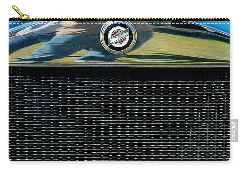 1928 Studebaker Carry-all Pouch featuring the photograph 1928 Studebaker by Mark Dodd