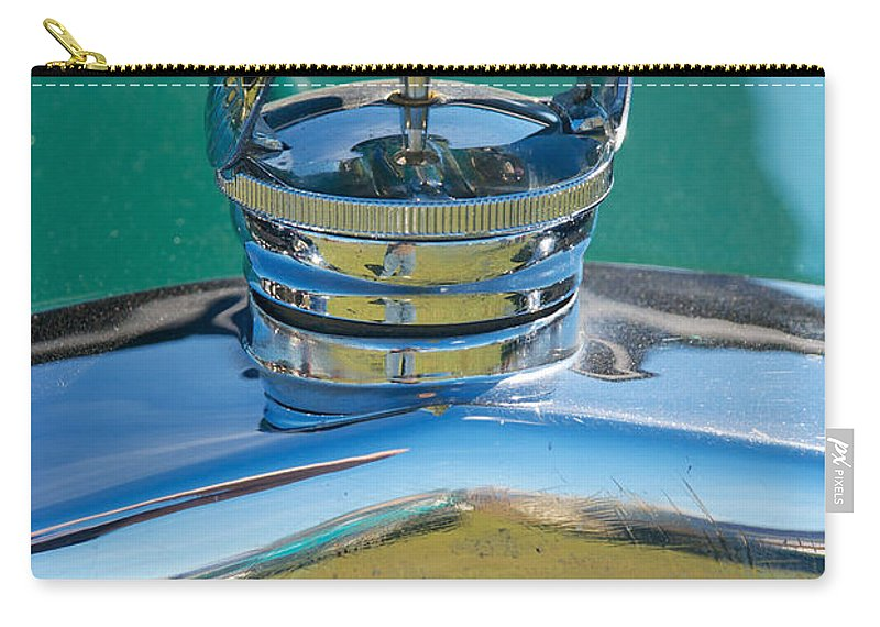 1929 Ford Model A Carry-all Pouch featuring the photograph 1929 Ford Model A by Mark Dodd