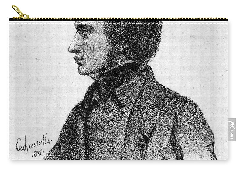 1841 Carry-all Pouch featuring the photograph Adam Mickiewicz (1798-1855) by Granger