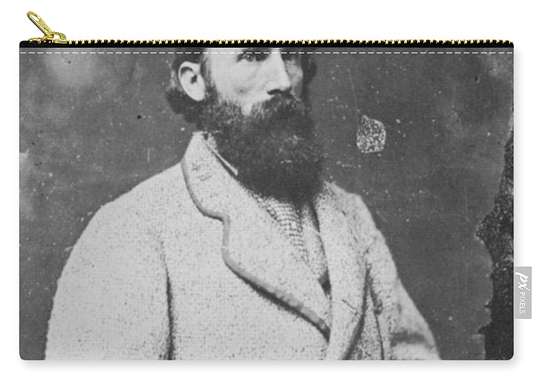 1860s Carry-all Pouch featuring the photograph Ambrose P. Hill (1825-1865) by Granger