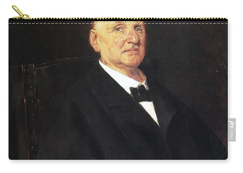 1888 Carry-all Pouch featuring the photograph Anton Bruckner (1824-1896) by Granger