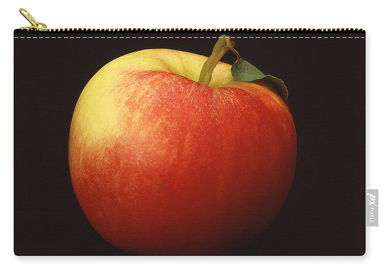 Apple Carry-all Pouch featuring the photograph Apple by Mark Greenberg