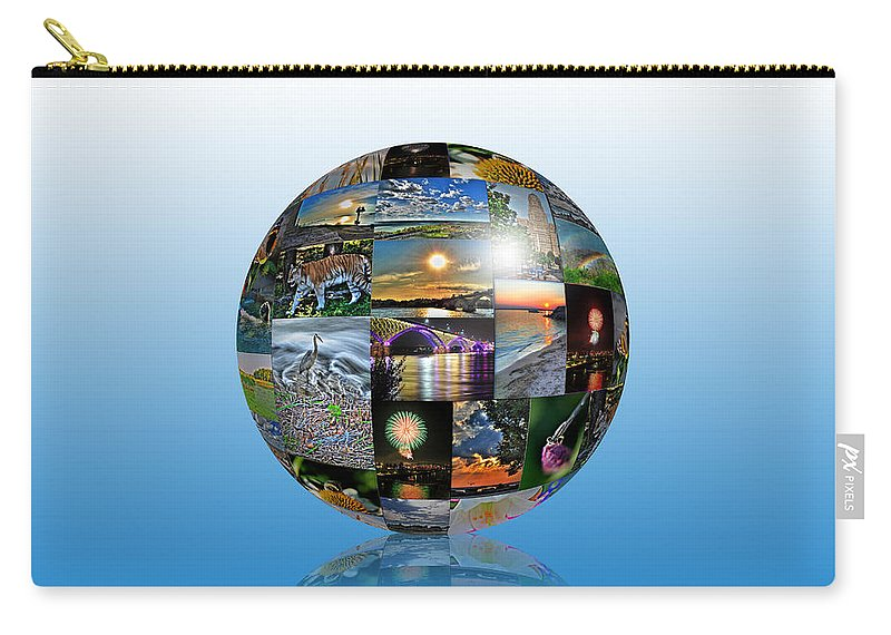 Carry-all Pouch featuring the photograph Attractions In Buffalo Ny And Surrounding Areas by Michael Frank Jr