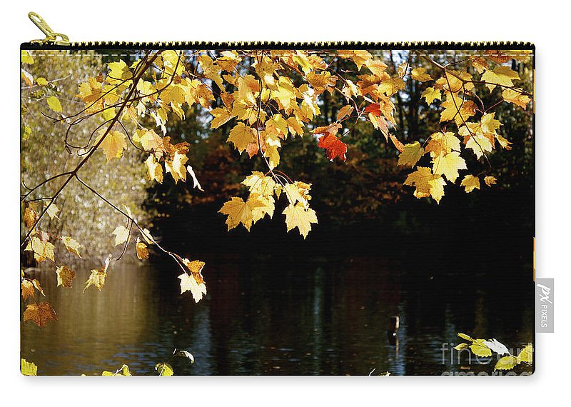 Autumn Evening Carry-all Pouch featuring the photograph Autumn Evening by Heinz G Mielke