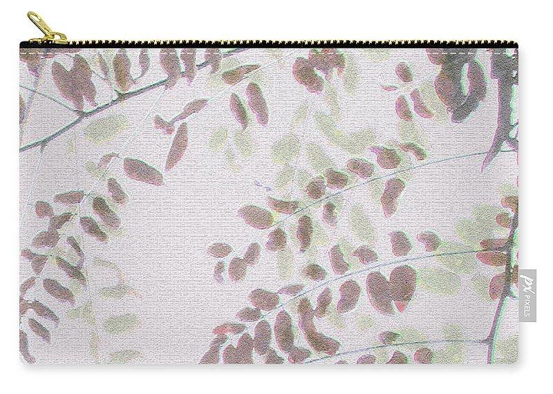 Autumn Carry-all Pouch featuring the photograph Autumn Meeting by Eena Bo