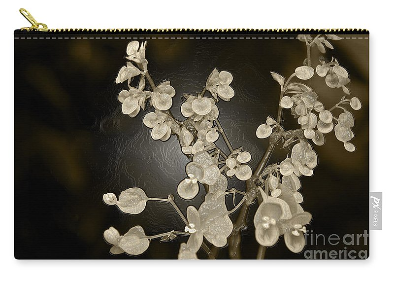 Begonia Carry-all Pouch featuring the photograph Begonia by Leanne Lei