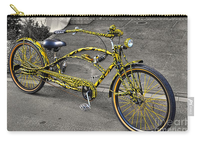 Bicycle Carry-all Pouch featuring the photograph Bicycle by Mats Silvan