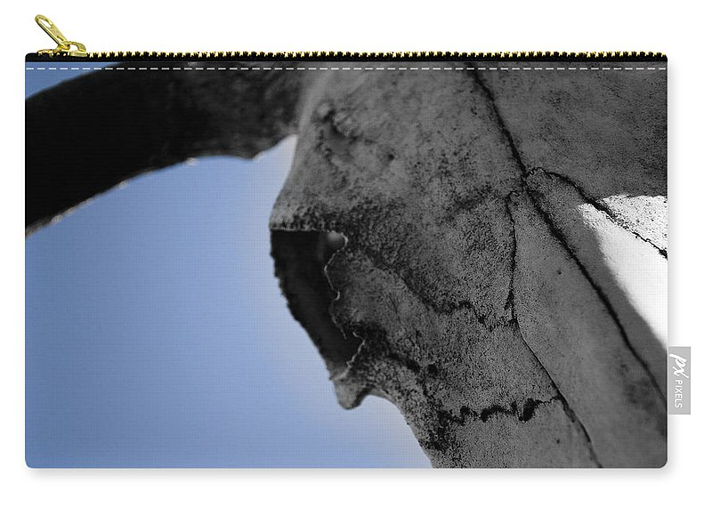 Close Up Carry-all Pouch featuring the photograph Big Blue by Kacy Taylor