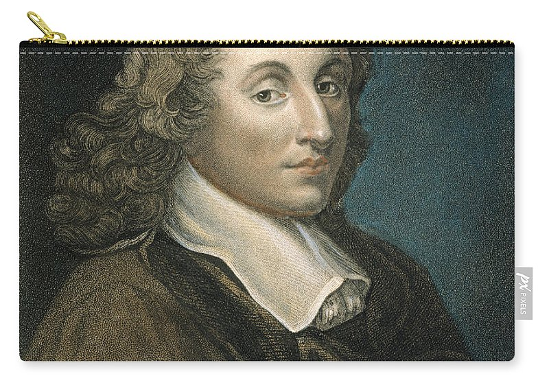 Blaise Carry-all Pouch featuring the photograph Blaise Pascal (1623-1662) by Granger