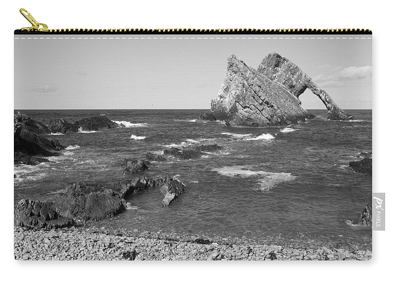 Bowfiddle Rock Carry-all Pouch featuring the photograph Bowfiddle Rock by Howard Kennedy