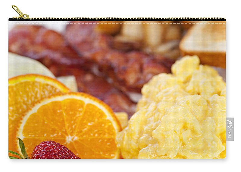 Breakfast Carry-all Pouch featuring the photograph Breakfast by Elena Elisseeva