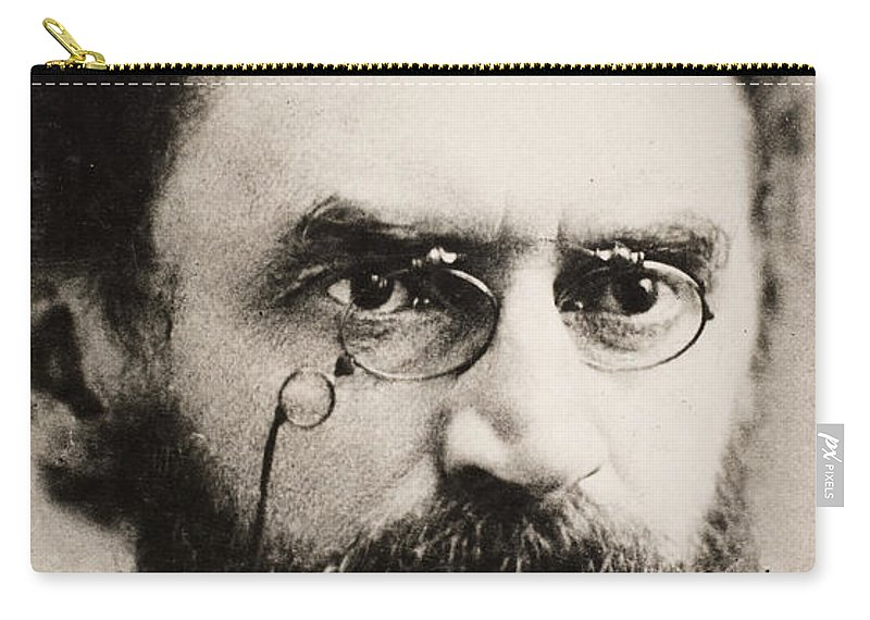 19th Century Carry-all Pouch featuring the photograph Carl Schurz (1829-1906) by Granger