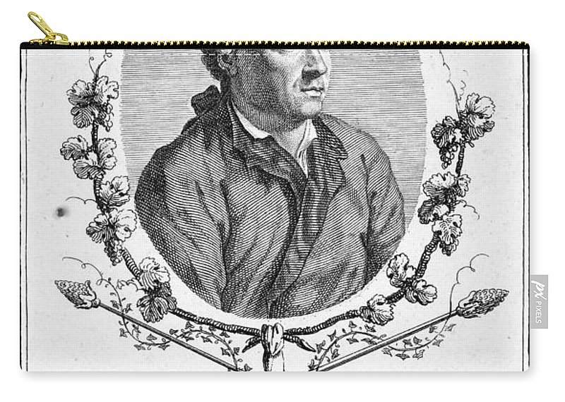18th Century Carry-all Pouch featuring the photograph Charles Simon Favart by Granger