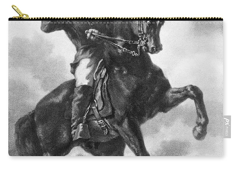 1863 Carry-all Pouch featuring the photograph Civil War: Bugler, 1863 by Granger