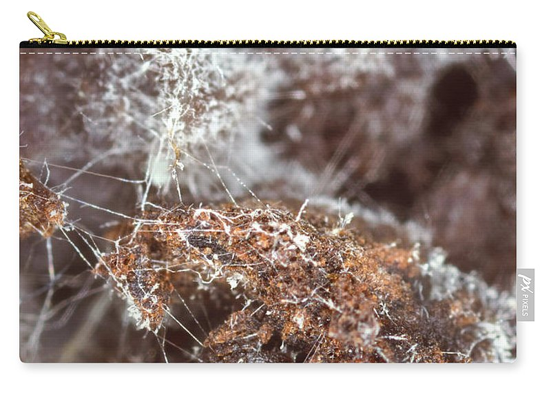 Coffee Carry-all Pouch featuring the photograph Coffee Grounds 2 by Jeffery Ball