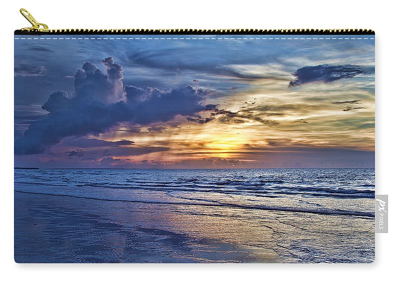 Beach Carry-all Pouch featuring the photograph Color Of Light by Douglas Barnard