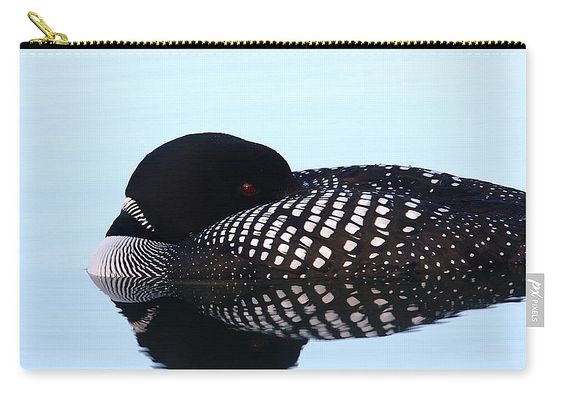 Doug Lloyd Carry-all Pouch featuring the photograph Common Loon by Doug Lloyd