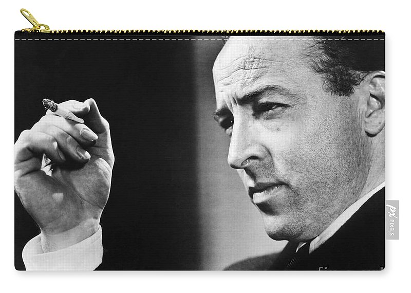 20th Century Carry-all Pouch featuring the photograph Dalton Trumbo (1905-1976) by Granger