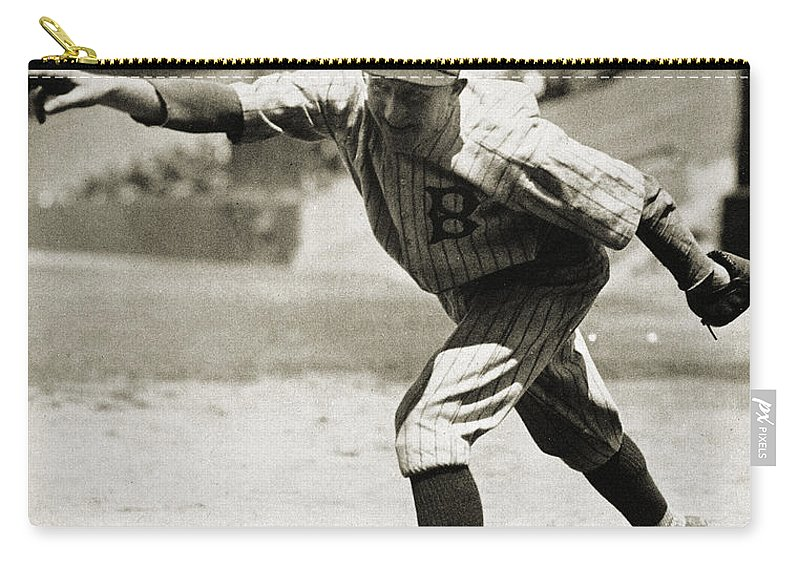 1920s Carry-all Pouch featuring the photograph Dazzy Vance (1891-1961) by Granger