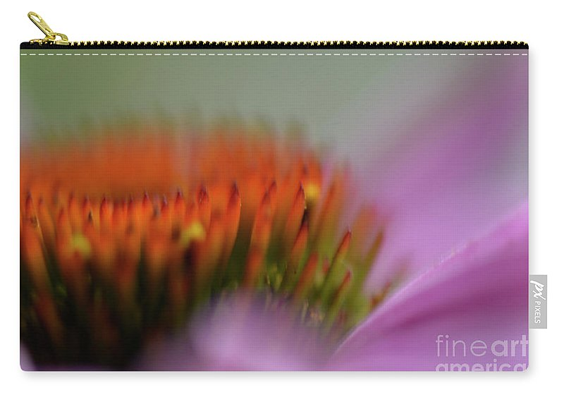 Coneflower Carry-all Pouch featuring the photograph Dreaming by Traci Cottingham