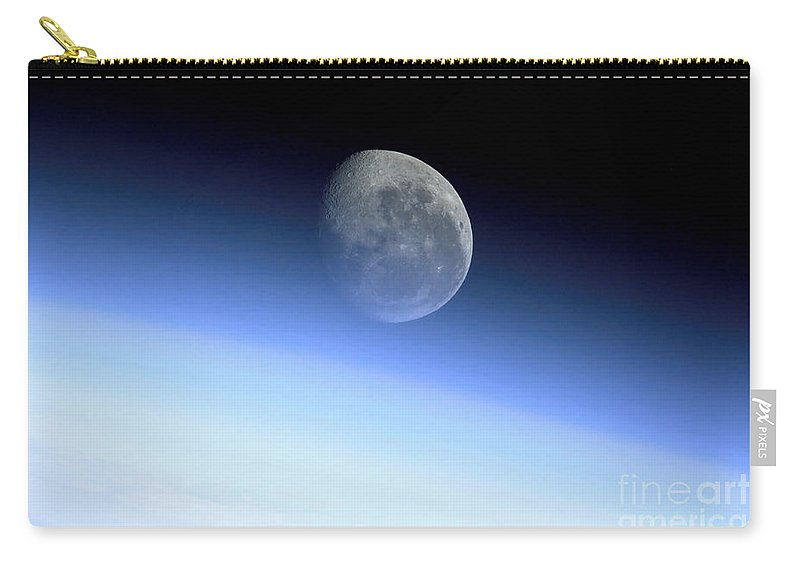 Color Image Carry-all Pouch featuring the photograph Earths Limb by Stocktrek Images