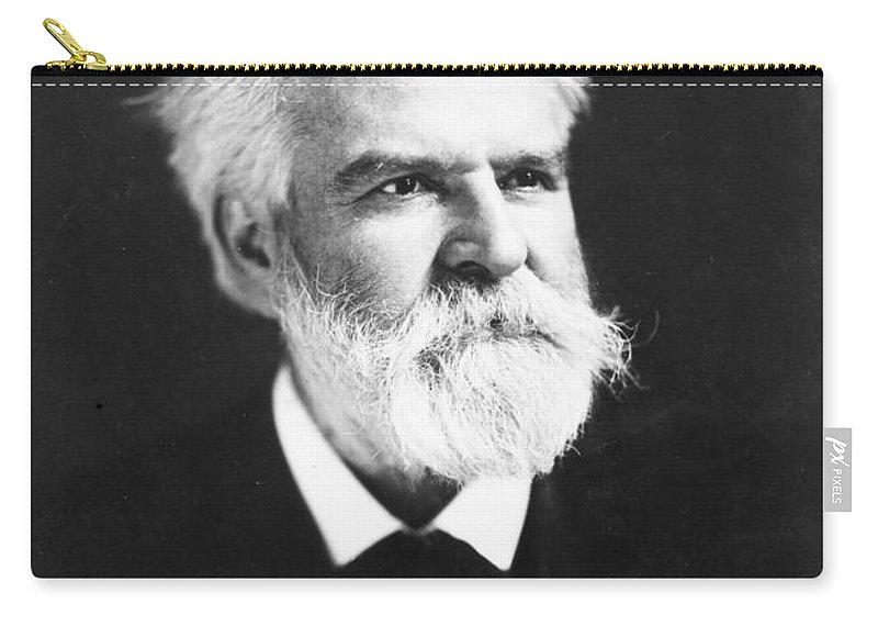 1907 Carry-all Pouch featuring the photograph Edwin Markham (1852-1940) by Granger