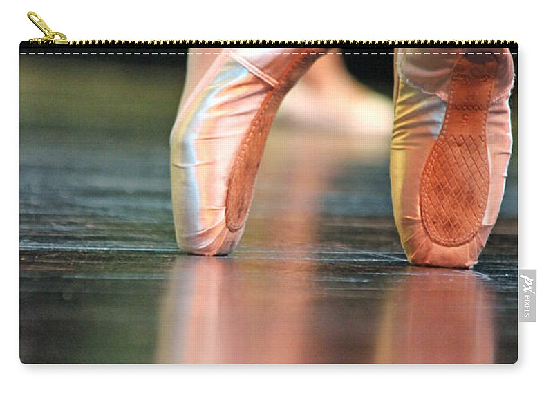 Toe Carry-all Pouch featuring the photograph En Pointe by Lauri Novak