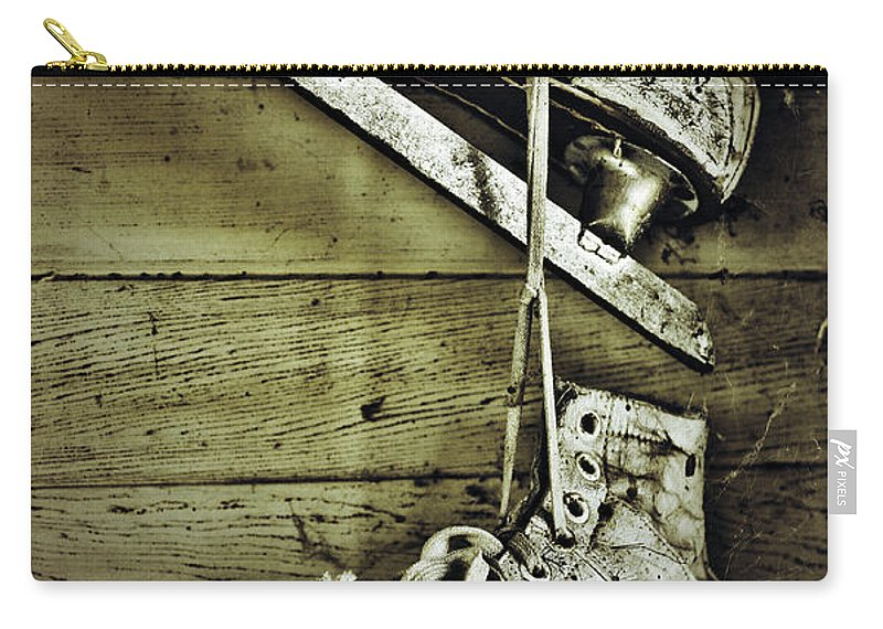 Street Photographer Carry-all Pouch featuring the photograph Fathers Teach by The Artist Project