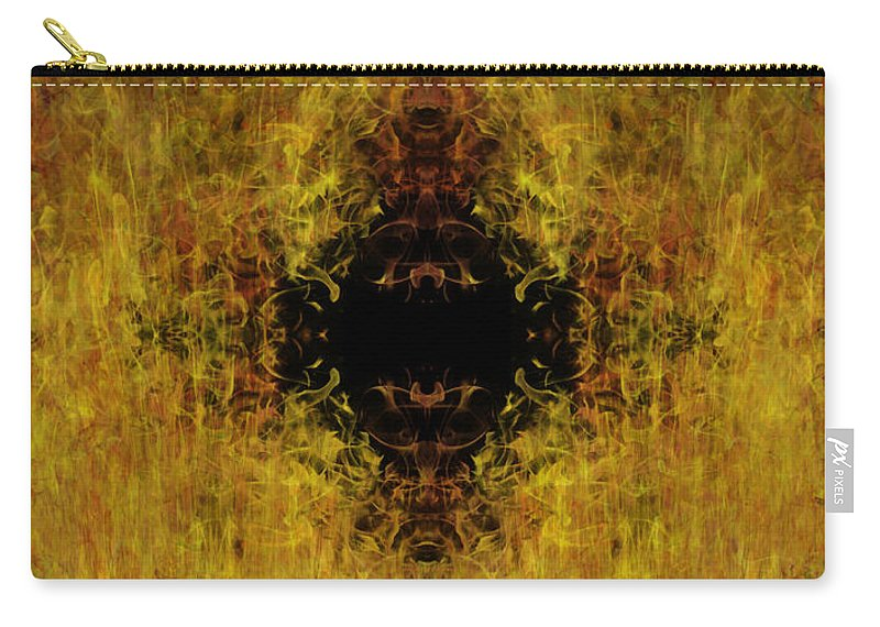 Fire Carry-all Pouch featuring the painting Fire by Christopher Gaston