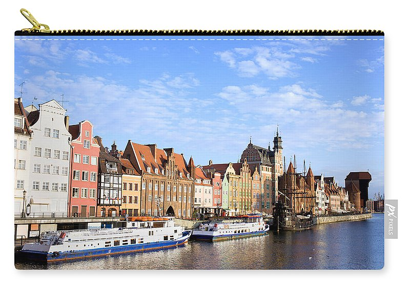 Apartment Carry-all Pouch featuring the photograph Gdansk Old Town In Poland by Artur Bogacki