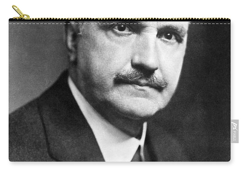 1950 Carry-all Pouch featuring the photograph George Santayana by Granger