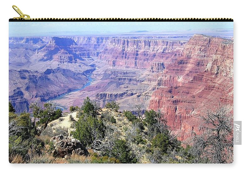 #grandcanyon8 Carry-all Pouch featuring the photograph Grand Canyon 8 by Will Borden
