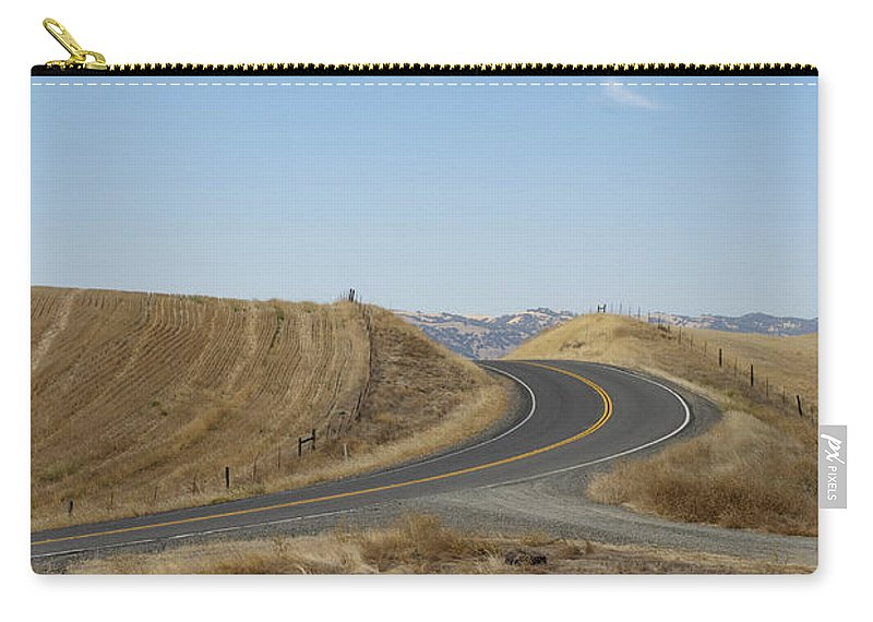 Landscape Carry-all Pouch featuring the photograph Heading Inland by Kathleen Grace