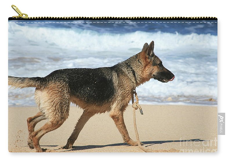 Carry-all Pouch featuring the photograph Hookipa by Sharon Mau