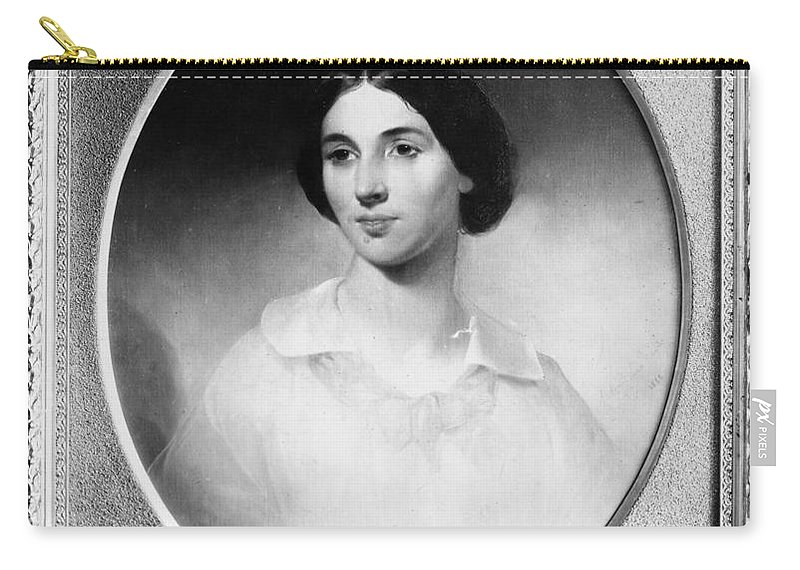 19th Century Carry-all Pouch featuring the photograph Jessie Ann Fremont by Granger