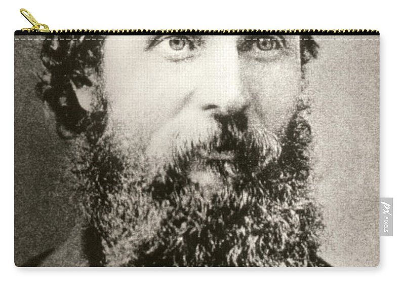 1893 Carry-all Pouch featuring the photograph John Muir (1838-1914) by Granger