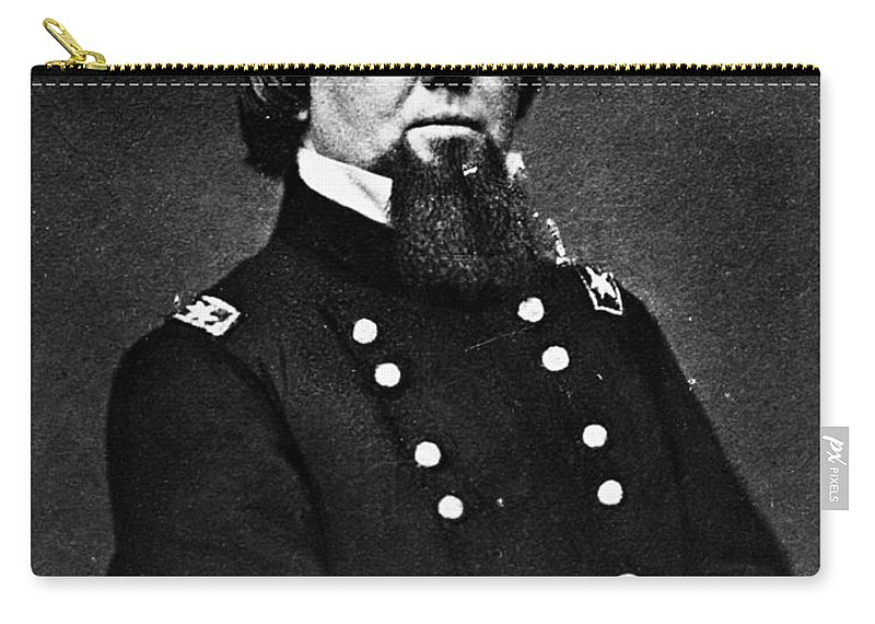 19th Century Carry-all Pouch featuring the photograph John Pope (1822-1892) by Granger