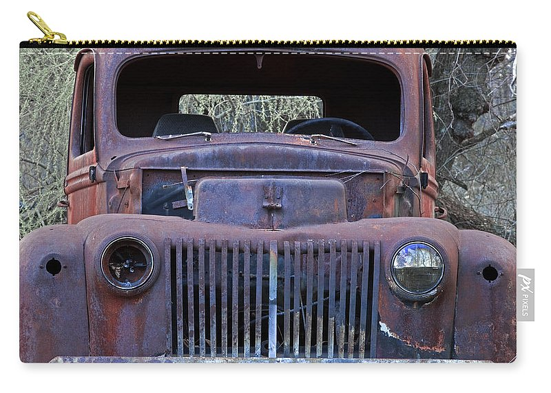 Rustbuckets Carry-all Pouch featuring the photograph Just Rusting by John Stephens