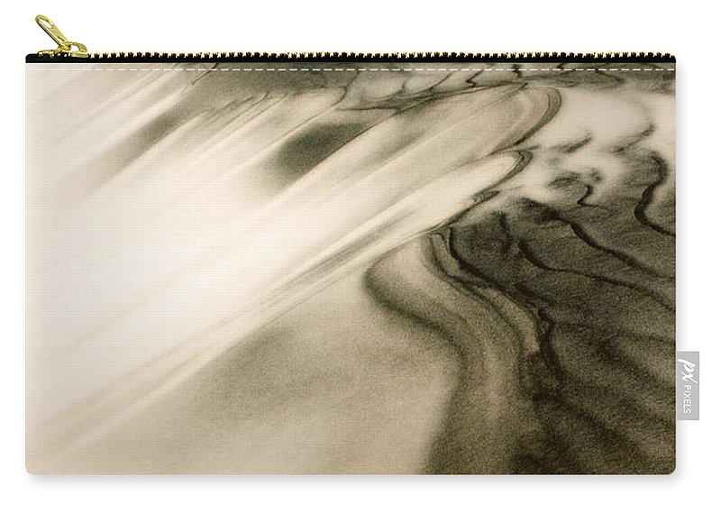Kelso Dunes Carry-all Pouch featuring the photograph Kelso Dunes by Chris Brannen