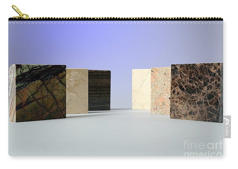 Geology Carry-all Pouch featuring the photograph Marble by Photo Researchers, Inc.