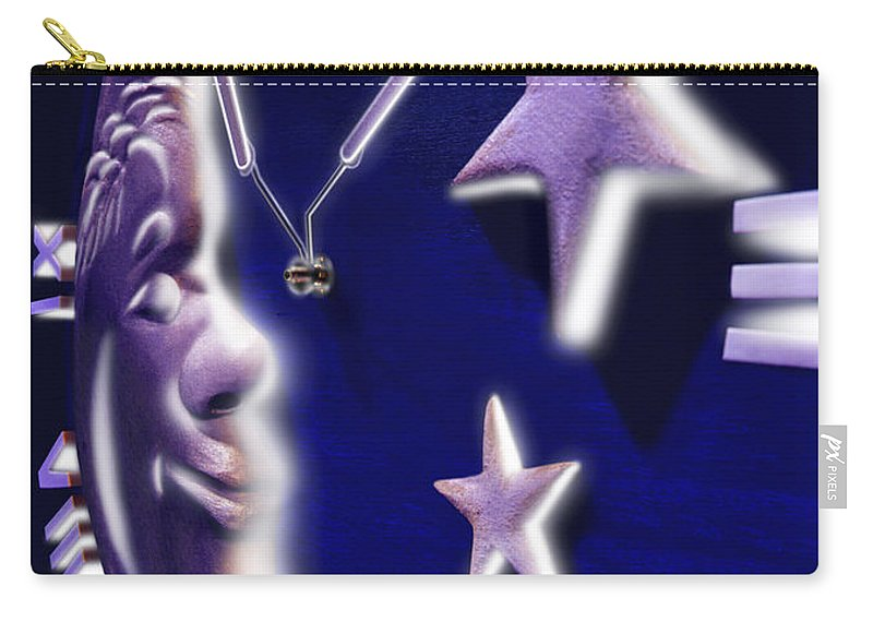 Moon Glow Carry-all Pouch featuring the photograph Moon Glow by Mike McGlothlen